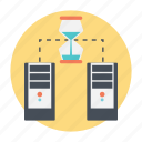 database, load testing, performance test, programming, software testing icon