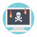 cyber crime, cyber hack, hacking, ransomware, spyware icon