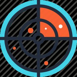 find, location, map, navigation, radar, scan, search icon