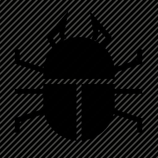 bug, mistake, secure, virus icon