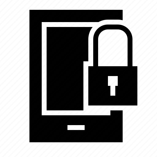 lock, phone, protect, safe, secure icon