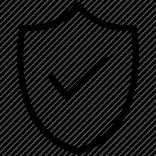 antivirus, check mark, protection shield, security shield, shield, web element icon