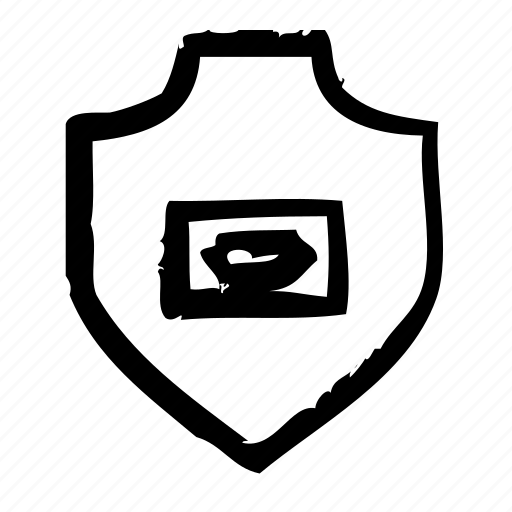 cash, protection, safety, secure, security, shield icon