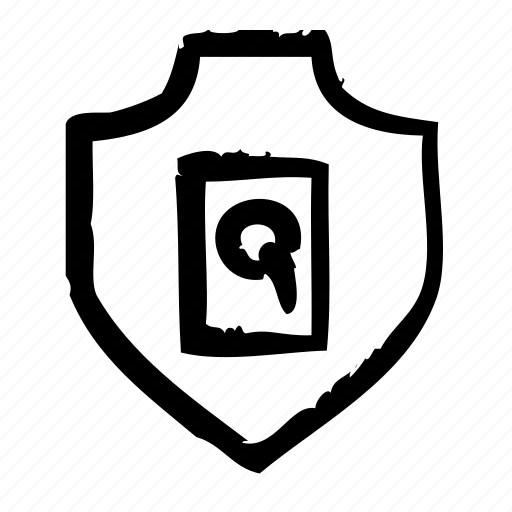 harddisc, protection, safety, secure, security, shield icon