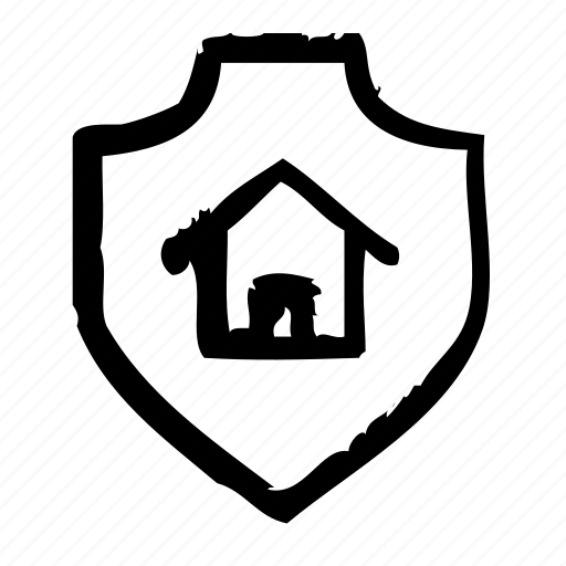 home, protection, safety, secure, security, shield icon