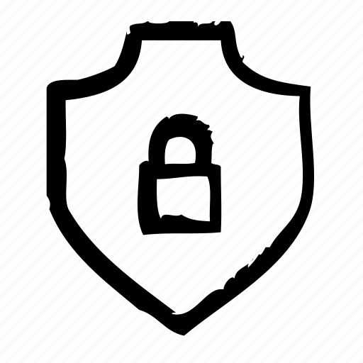 lock, protection, safety, secure, security, shield icon