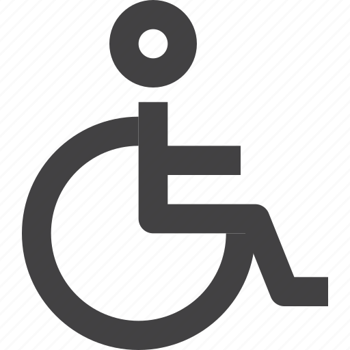 Accessibility, disability, wheelchair icon - Download on Iconfinder