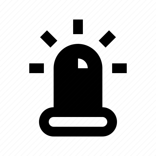 alarm, protect, protection, secure, security, siren icon
