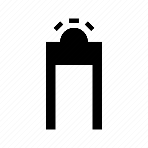 gate, protect, protection, secure, security icon