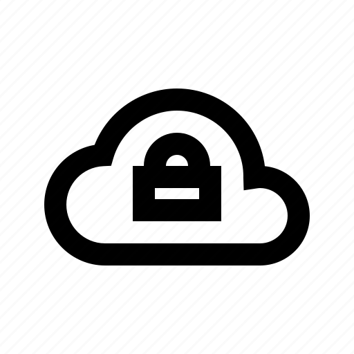 cloud, lock, protect, protection, secure, security icon