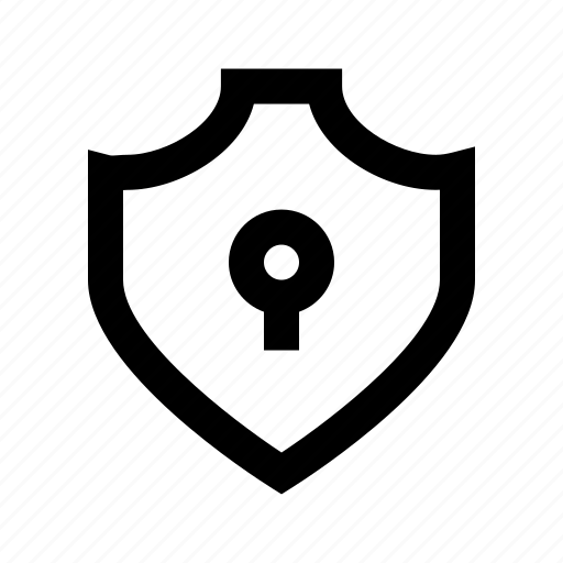 lock, protect, protection, secure, security, shield icon