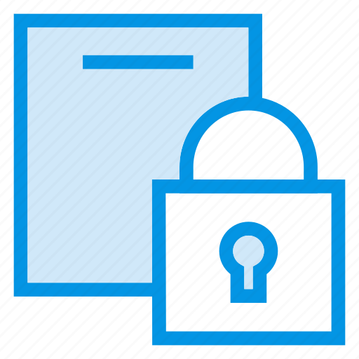 lock, privacy, safety, security icon