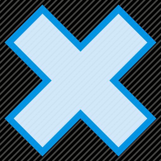 cancel, close, denied, stop icon