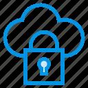 cloud, lock, protect, secure