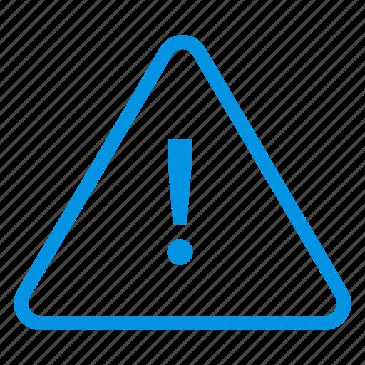 alert, error, problem, warning icon