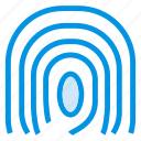 biometric, finger, fingerprint, identity icon