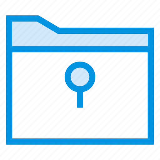folder, folderlock, lock, security icon