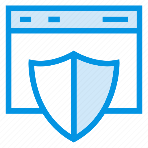 hosting, security, service, web icon