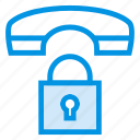 lock, phone, private, security icon