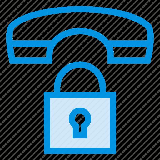 lock, phone, private, security icon