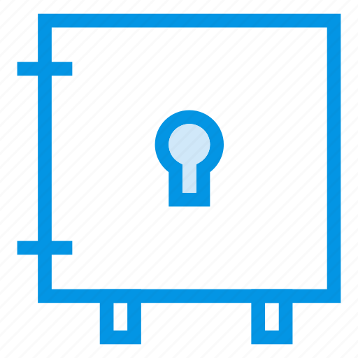 locker, money, safe, security icon