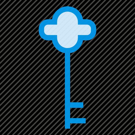access, key, security, unlock icon