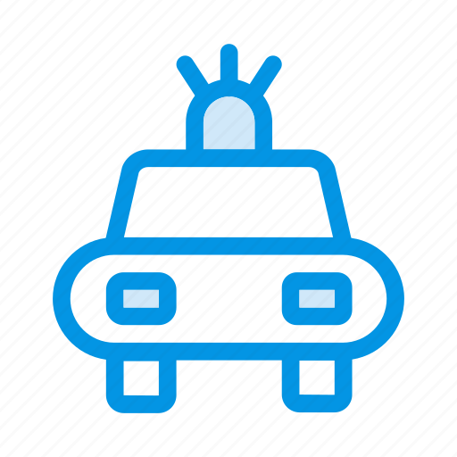 car, police, security, transport icon