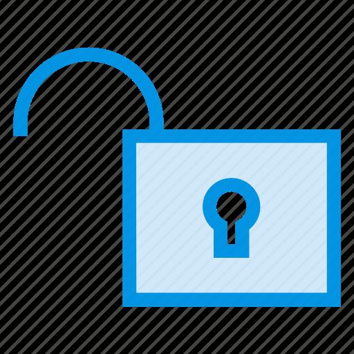 open, security, unlock, unlocked icon