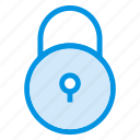 locked, protection, security, square icon