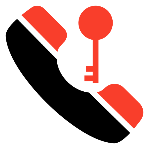 device, key, phone, security icon