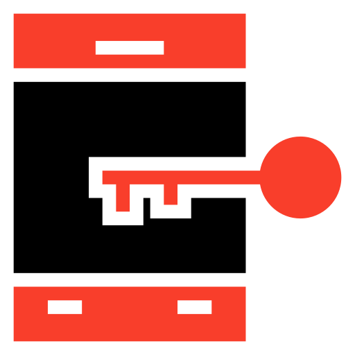 lock, mobile, security, smartphone icon