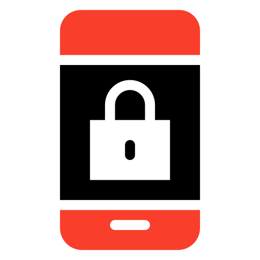 locked, mobile, phone, private icon