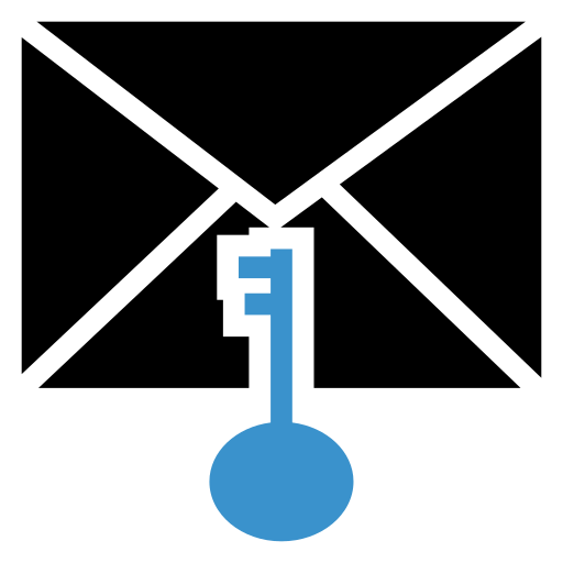 email, key, mail, message icon