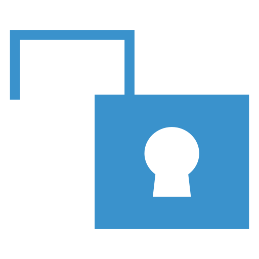 key, safety, security, unlock icon