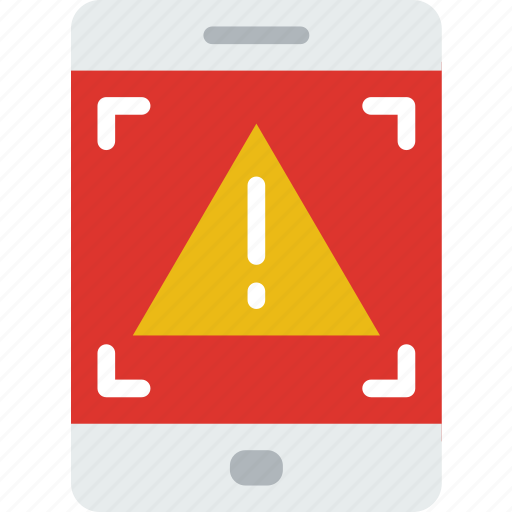 business, police, secure, security, tablet, warning icon