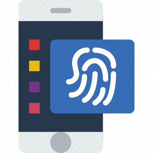 authentication, business, fingeprint, police, secure, security icon