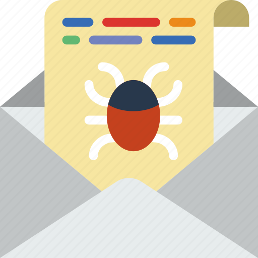 bug, business, police, report, secure, security icon