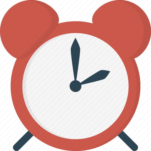 alarm, bell, clock, time icon