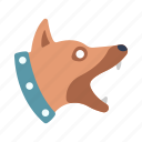 alert, animal, breed, guard, pet, security, watchdog icon