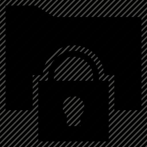 Folder, locked, secret, security icon - Download on Iconfinder