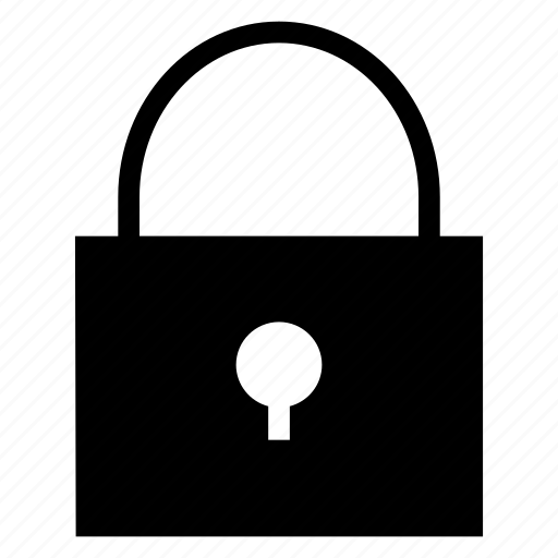 lock, private, secured, security icon