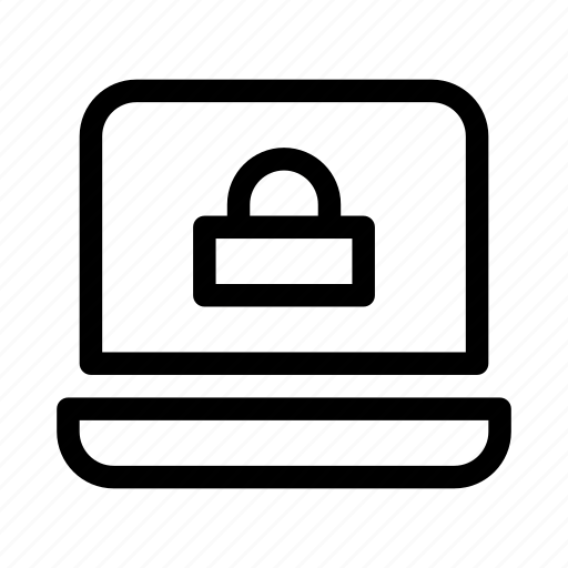 lock, notebook, protect, protection, secure, security icon