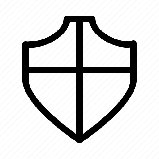 front, lock, protect, protection, secure, security, shield icon
