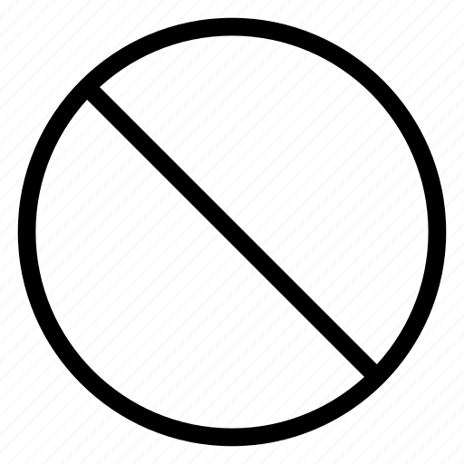 block, blocked, private, stop icon