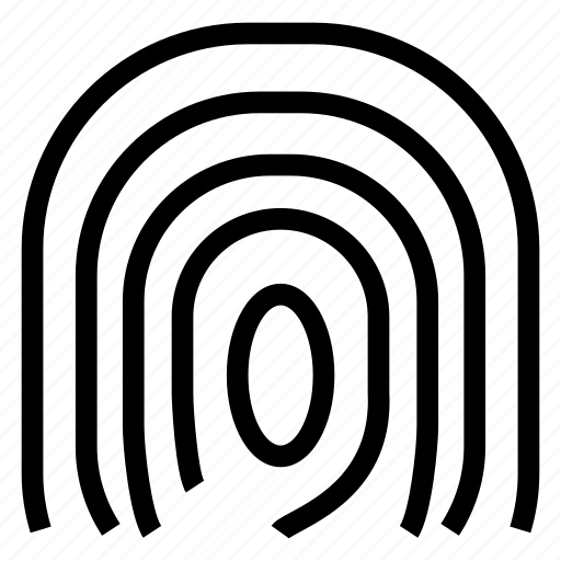 biometric, finger, fingerprint, identity icon