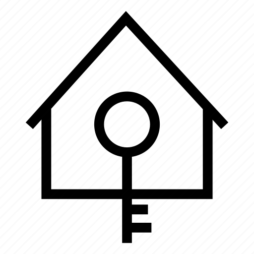 access, hause, home, key icon