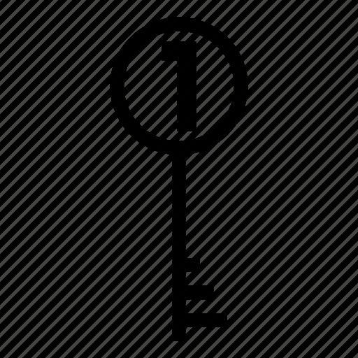 key, password, security, unlock icon