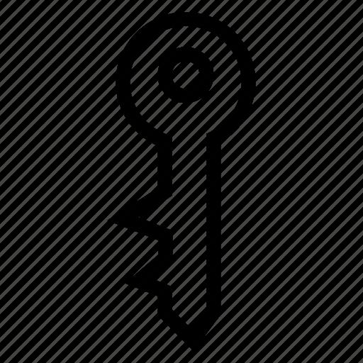 accessibility, key, private, unlock icon