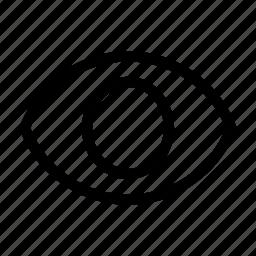 eye, look, see, sight, visible, vision icon