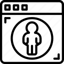 business, control, parental, police, secure, security icon